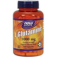 Now Foods L-Glutamine, 1000mg, 120 Capsules