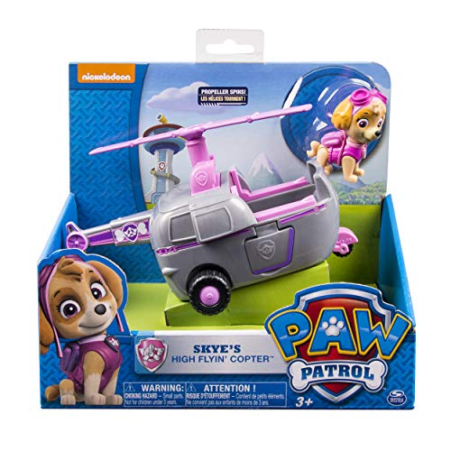 Paw Patrol 6027645 - Basic Vehicle Helikopter mit Skye