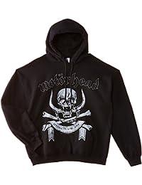 Motorhead March or Die - Sudadera Con Capucha De Videojuegos Hombre, color negro, talla X-Large