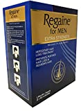 Regaine Solution for Hair Loss 3 Month Delivery - 3 x 73 ml 5% Minoxidil Regrowth Hair Solution Pack for Men and Women