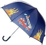 Playshoes Jungen Regenschirm 448590 Feuerwehr Design