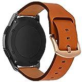 iBazal Bracelets Galaxy Watch 46mm Cuir 22mm Bandes Compatible avec Samsung Gear S3...