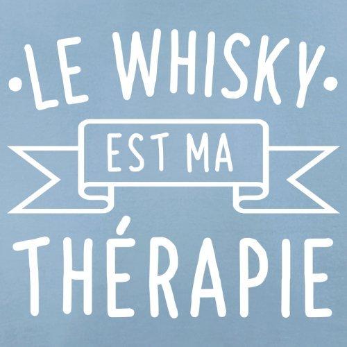 Le whisky est ma thérapie - Femme T-Shirt - 14 couleur Bleu Ciel