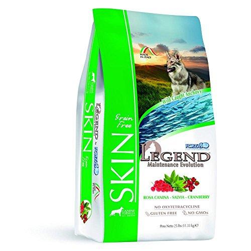 SANYPET Forza 10 Legend Maintenance Evolution Skin 11.34 kg Alimento Secco per Cani, Multicolore, Unica