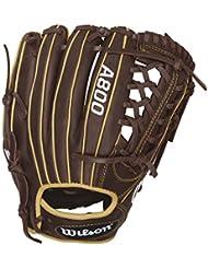 Wilson - Gant de Baseball Wilson A800 Showtime 11.75 Lh droitier Gants - Droitier, Taille Gant - 11.75