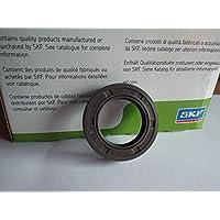 25x 40x 10mm SKF Huile d'étanchéité en caoutchouc nitrile double Lip R23/TC Jarretière Printemps