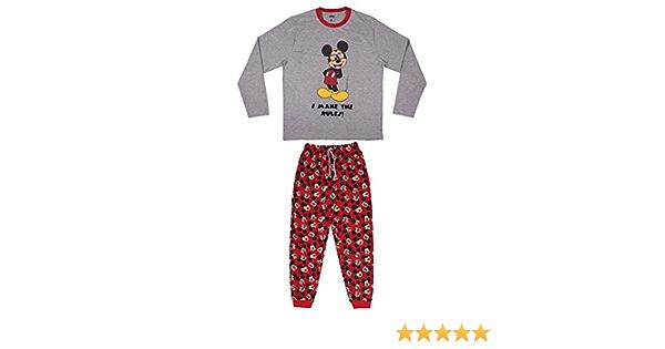 Pijama Hombre de Mickey Mouse Cerd/á Licencia Oficial Disney