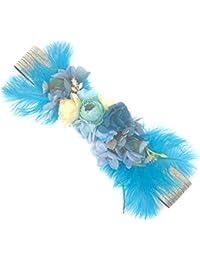Ever Fairy moda flor cinturones para mujer niña dama de honor vestido de satén cinturón boda fajas cinturón de la pluma tela elástica cinturón accesorios