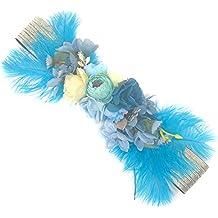 Ever Fairy moda flor cinturones para mujer niña dama de honor vestido de  satén cinturón boda 22faa5e53e39