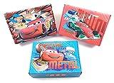 DISNEY Aufbewahrungsboxen / Schachteln Pappe mit Deckel im 3er Set (Cars)