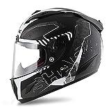 Motorradhelm Shark Race-R Pro Cintas Mat - Schwarz Anthrazit Silber - XL