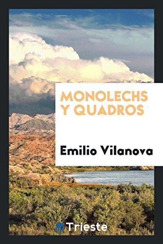 Descargar Libro Monolechs y quadros de Emilio Vilanova