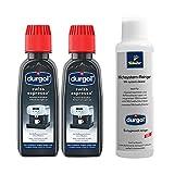 Tchibo Durgol Reinigungs-Set (Milchsystemreiniger und Spezialentkalker ideal für Kapselmaschinen und Kaffeevollautomaten)