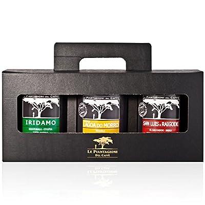 Ground Coffees Gift Set - San Luis & Raigode, Iridamo and Lagoa do Morro (3 x 250g) by Aromapass