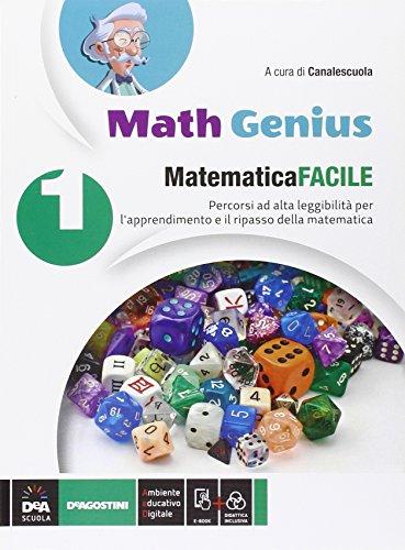 Matematica facile. Per la Scuola media. Con e-book. Con espansione online: 1