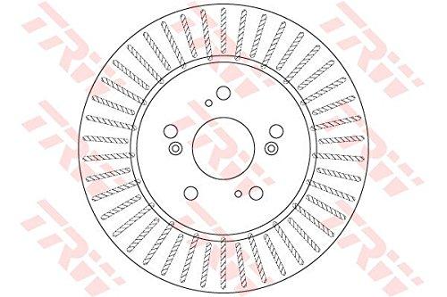 Preisvergleich Produktbild TRW DF6180S Bremsscheibe Scheibenbremsen,  Bremsscheiben (x2)