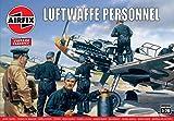Airfix A00755V 1/76 WWII Luftwaffenpersonal Modellbausatz, verschieden, 1: 76 Scale