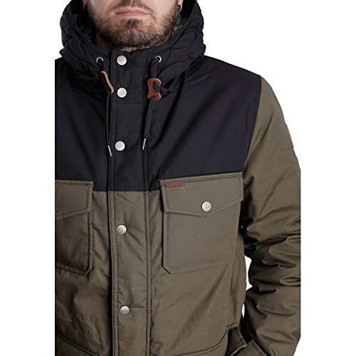 Giacca Jacket Giubbotto Element Helmlock Military Green (S)