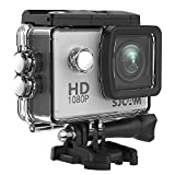 #4: SJCAM SJ4000 1080P Action Camera 12MP Waterproof Underwater Camera 2.0 LCD Screen Display FHD Sports Camcorder
