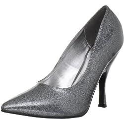 Pinup Couture - zapatos de tacón mujer, Silber, 39