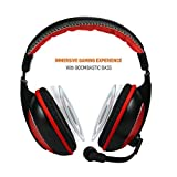 Amkette TruChat Boomer Wired Gaming Headset (Red)