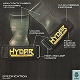 Hydar Strength Gewichtheber-Bandagen, Dual-Funktionalität von Handgelenkbandagen und Handschuhe, gepolstert - 2