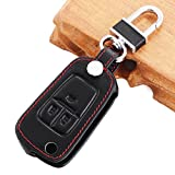 Car Remote Fob 3 Button Leather Case