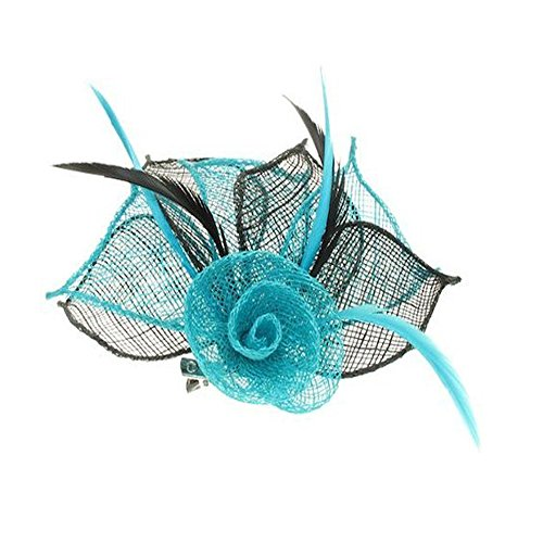 4479-2-tone-coloured-hessian-netted-rose-with-3-petals-fascinator-on-beak-clip-brooch-pin-wedding-tu
