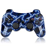 Gollec Wireless controller remote gamepad For PS3 Playstation 3 Double Shock with USB