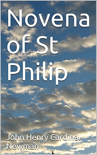 Novena of St Philip (English Edition)
