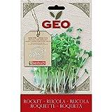 Geo ZRU0203 Rucola Semi da Germoglio, Marrone