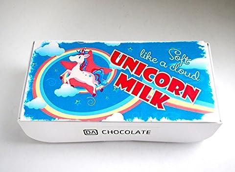 DA CHOCOLATE Cadeaux d'anniversaire Oiseaux Chocolat au lait Recouvert Vanilla Marshmallow Candy Pigeon's Lait Souvenir 16,5x8x4,5cm 1 boîte (Boite