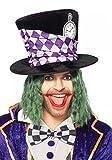 Verrückter Hutmacher ZYLINDER von Leg Avenue Mad Hatter Alice im Wunderland