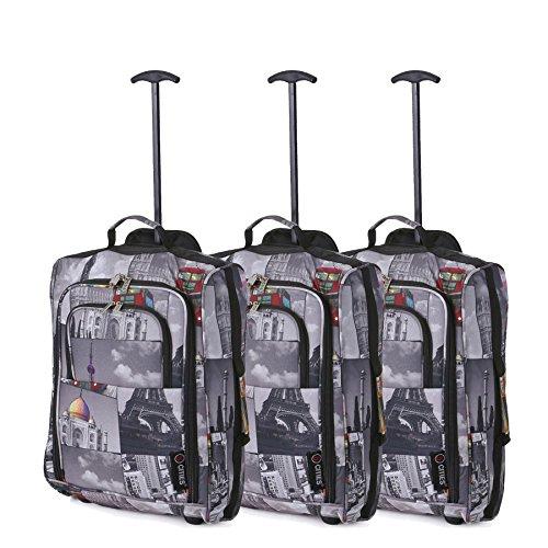 Set Tres - Equipaje Mano Equipaje Cabina Maletas Trolley