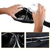 Sport Hüfttasche, Flycool Laufgürtel elastische Gürteltasche Bauchtasche Running Belt mit Kopfhöreranlass für Handy und Reflexstreifen für Nachtsichtbarkeit - 6