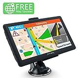 SAT NAV 8GB Latest 2019 Maps GPS Navigation System, Jimwey 7 Inch Car