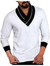 Seven Rocks Men's Plain Regular Fit T-Shirt