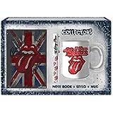 sahinler–uni-010–Rolling Stones–Coffret Tasse + Stift + Notebook
