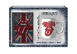 sahinler-uni-010-Rolling Stones-Coffret tazón + bolígrafo + Notebook