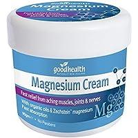Good Health Magnesium-Creme | 90g | Schnelle Linderung von schmerzenden Muskeln, Gelenken und Nerven | Enthält... preisvergleich bei billige-tabletten.eu