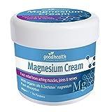 Good Health Magnesium-Creme | 90g | Schnelle Linderung von schmerzenden Muskeln, Gelenken und Nerven | Enthält organische Öle und Zechstein Magnesium