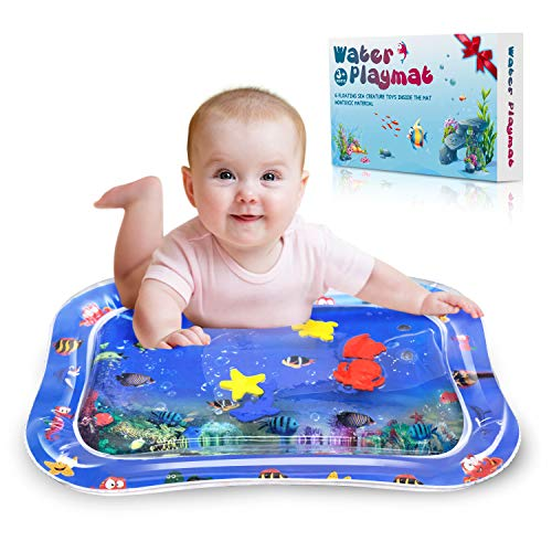 Alfombrilla de actividad para beb/é con luces y m/úsica dise/ño de vida marina Just4baby