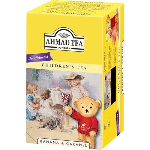 Ahmad Tea London Kinder-Tee Children´s tea Bananen & Karamel 20 Beutel