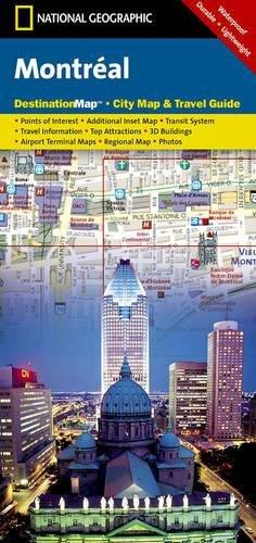 Montreal: Destination City Maps (National Geographic Destination City Map)