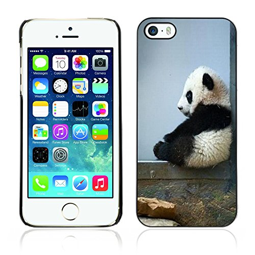 Graphic4You Ni Hao China Karikatur Panda Tier Design Harte Hülle Case Tasche Schutzhülle für Apple iPhone 5 und 5S Design #2