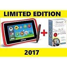 "Clementoni 16604LE LIMITED EDITION [versione 2017] - ( Tablet Clempad 7"" Plus, Rosso 16604 Con Tablet Car Mount 13688 )"