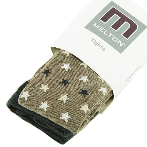 Melton Baby Boy Strumpfhose Mini Stars melange denver ()