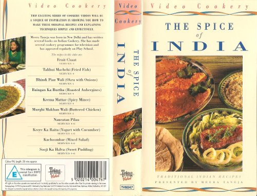 the-spice-of-india-traditional-indian-recipes-sainsburys-video-cookery-vhs