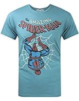 Junk Food Amazing Spider-Man Upside Down Men's T-Shirt
