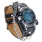 CoolChange Black Butler Armbanduhr mit Pentagram